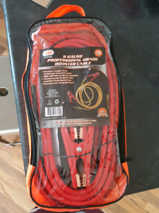 Booster Cable Kit 8 Gauge Professional Grade Illinois Industrial