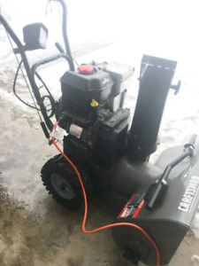 Almost brand new snowblower