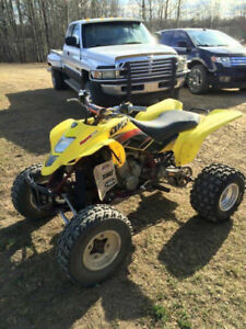 Racing quads Suzuki LTZ 400 in great condition