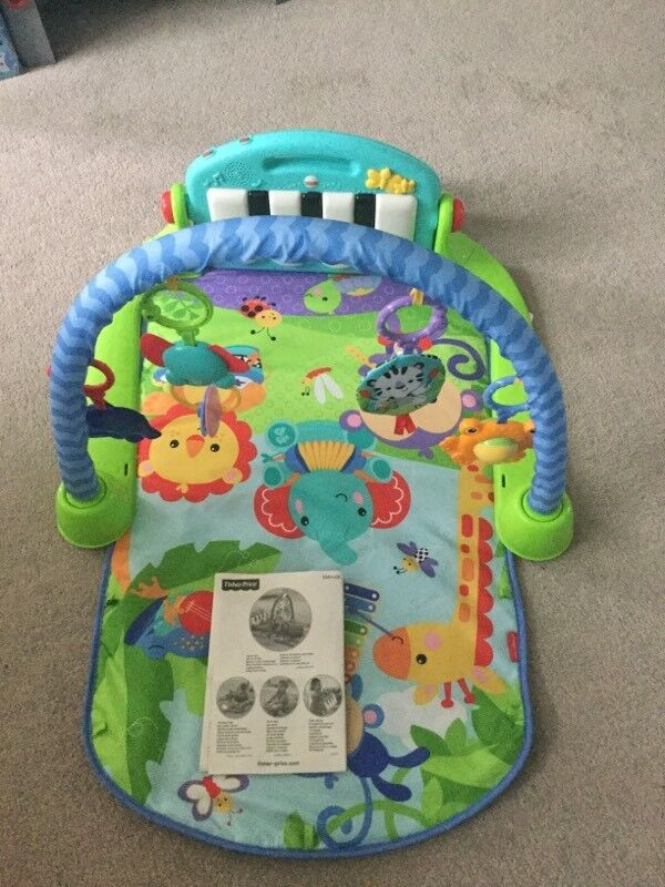 Fisher Price Kick And Play Piano Gym In Corfe Mullen Dorset Gumtree