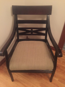 Accent Chair Solid Wood