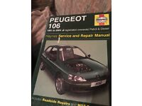 Haynes manual for Peugeot 106 1.1