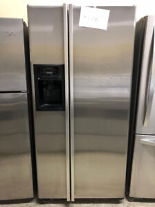 Refrigerateur stainless 33 pouces GE