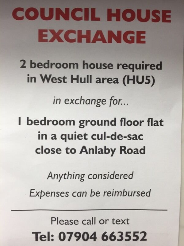 Council house exchange