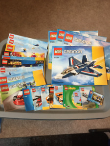 13 lbs of LEGO - Lots of Minifigs