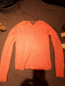 10 decent branded long sleeve/ sweaters women's small