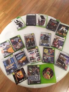 Console and games (xbox 360 games and classic xbox console)