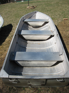 5 Aluminum 14' Boats-2 12' Deep & Wides-1 11' Super Lightweight