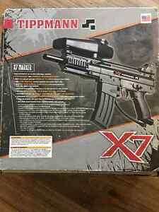 Tippman X7 Basic - Barely Used, Missing Barrel