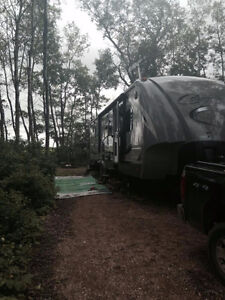 """2014 36"""" Cougar High Country trailer"""