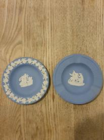 Two Wedgwood Jasperware small dishes