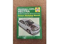 Haynes Manual , Vauxhall vectra C 2005 - 2008