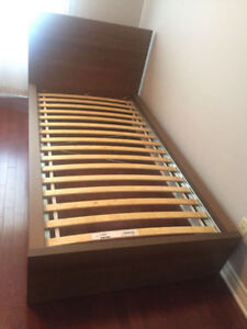 Bed Frame with Dresser