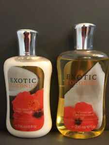 Shower gel and lotion