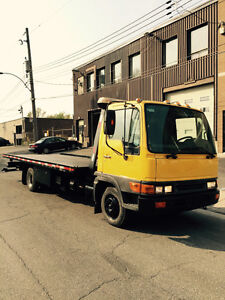 HINO DIESEL TOWING Plateforme+wheell lift!