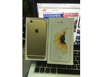 IPhone 6s 16gb Gold o2 giffgaff tesco network