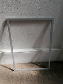 Free silver frame (FRAME ONLY!)