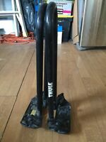 Thule stackers. Carry 1, 2, or 3 kayaks