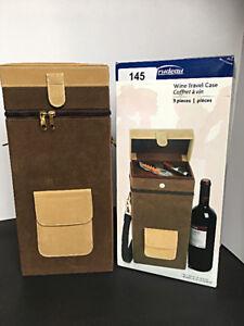 Wine Travel Case 3 pcs / Coffret A Vin 3pcs