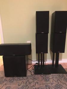 Paradigm 5 Speaker + Subwoofer Home Theatre Speaker Set