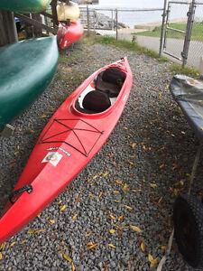 16' Nunavut Double Kayak with 2 Paddles