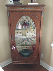 Antique Curio Cabinet-reduced to $ 400