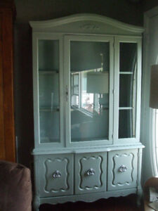 Newly Refinished China Cabinet