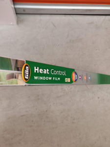 Heat Control Window Film (3ft x 6.5ft)