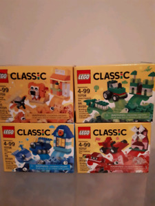 Lego classic lot of 4 new