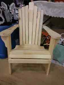 NEW Children's and Adult Adirondack Chair Chaise
