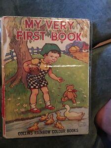 Rare Vintage Children's Book 1950's era