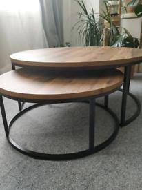 Next BRONX coffee nest of 2 tables