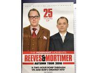 Viv Reeve and Bob Mortimer tickets