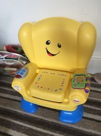 Learn & play chair