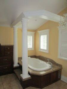 Jacuzzi Tub  complete with Taps and Granite Top