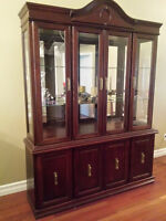 Beautiful 4 Door China Cabinet