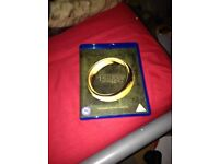 Lord of the rings the fellowship of the ring 2 disc extended edition Blu Ray