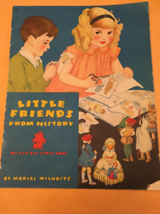 Little Friends From History Cut Out Dolls Book
