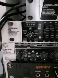 Variety of DJ/Sound Equipment