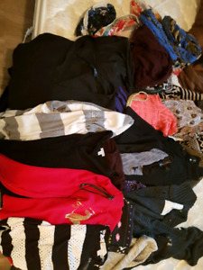 Mostly brand name clothes, shoes, purses, pj'