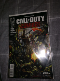 Rare call of duty zombies comic