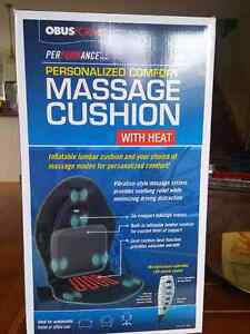 obusforme massage cushion with heat
