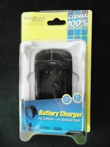 NEW STEIN ZEISER BATTERY CHARGER. MADE IN GERMANY