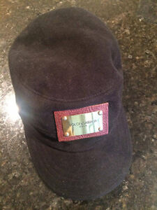 Dolce & Gabbana Black hat size 59 M L wool -100% Authentic