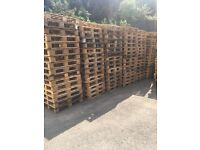 Loads of pallets