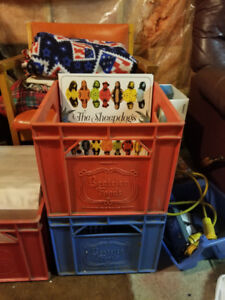 Milk Crates for Storing Vinyl!
