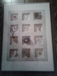 IKEA Hearts Framed Poster – great Christmas gift!