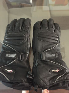 Thinsulate Snowmobile Leather Gloves