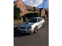 Subaru Impreza wrx/sti , immaculate example, no dents or scratches ,
