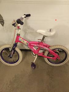 Vélo Princess de 14 pouces pour fille